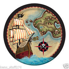 Pirate's Map Plates