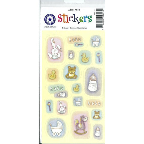 Baby Bottles Stickers