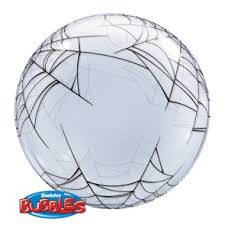 Clear Spider Web Deco Bubble Balloon