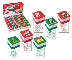 Christmas Square Stamps