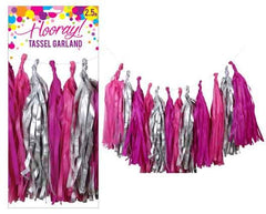 Pink Tassel Garland Kit