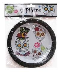 Candy Skulls Large Plates