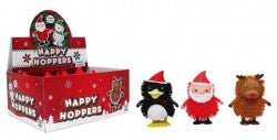 Christmas Wind Up Hoppers