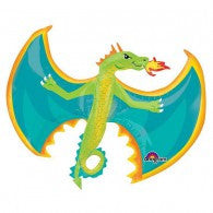Dragon Supershape Foil Balloon