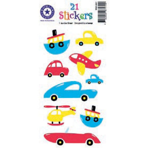 Cars, Boats & Planes Stickers