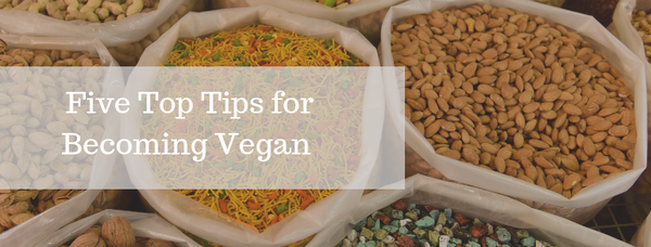 5 Top Tips for Becoming Vegan