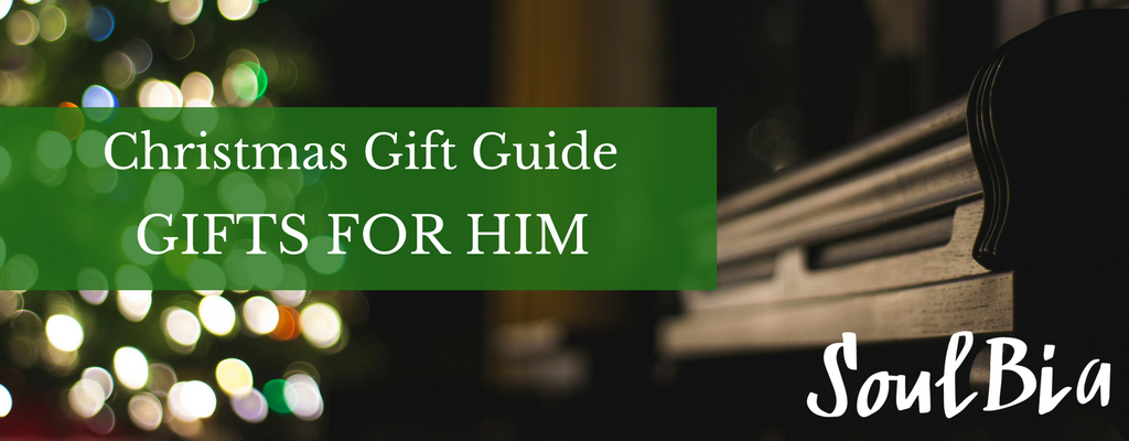 SoulBia Christmas Gift Guide - Gifts for Him