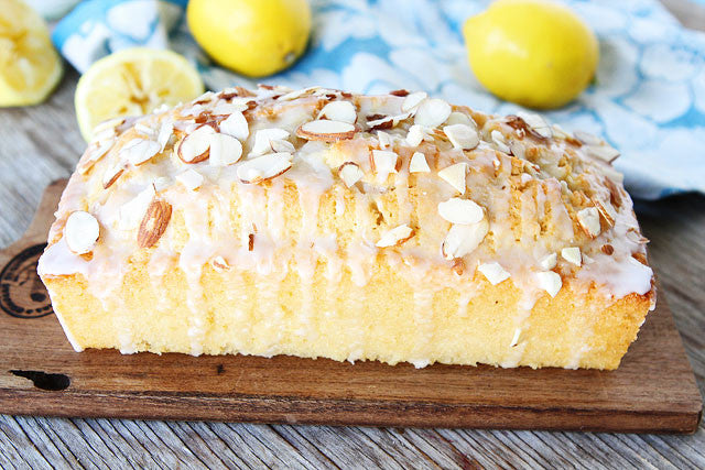 Lemon Almond Loaf (made with Boringly Good Almond Milk)