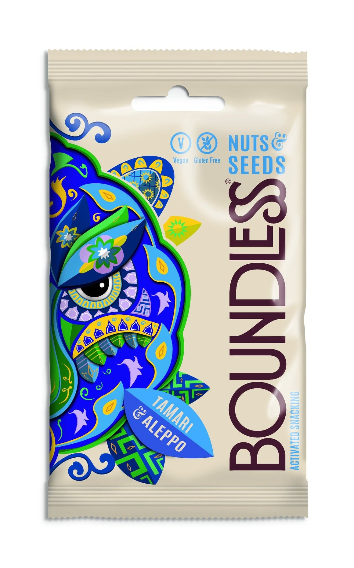 Boundless Activated Nuts & Seeds Tamari & Aleppo - 30g - SoulBia