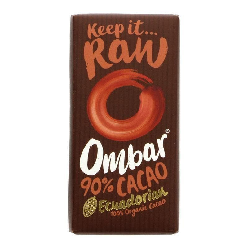 Ombar 90% Raw Chocolate -35g - SoulBia