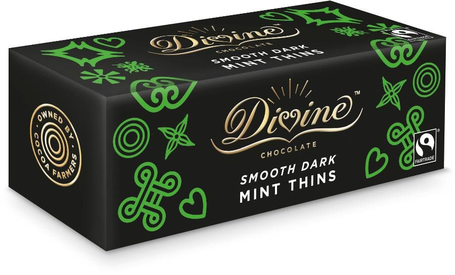 Divine Dark Chocolate After Dinner Mint Thins - 200g - SoulBia