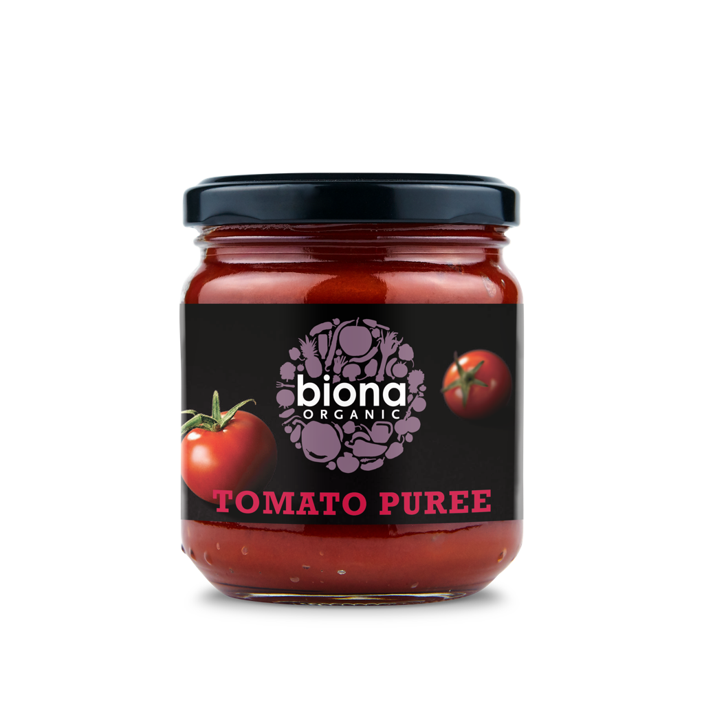 Biona Tomato Puree- 200ml - SoulBia