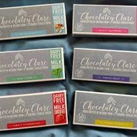 Chocolatey Clare - Really Raspberry (Vegan, Gluten-Free) Chocolate Bar - SoulBia