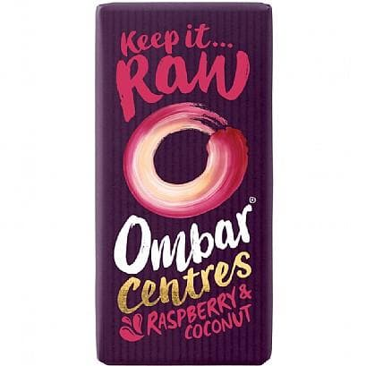 Ombar Centres Raspberry & Coconut - 70g - SoulBia