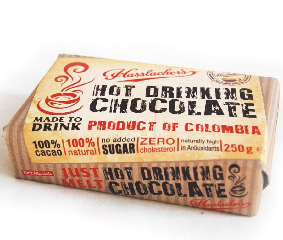 Hasslacher's Bar of Drinking Chocolate - 250g - SoulBia