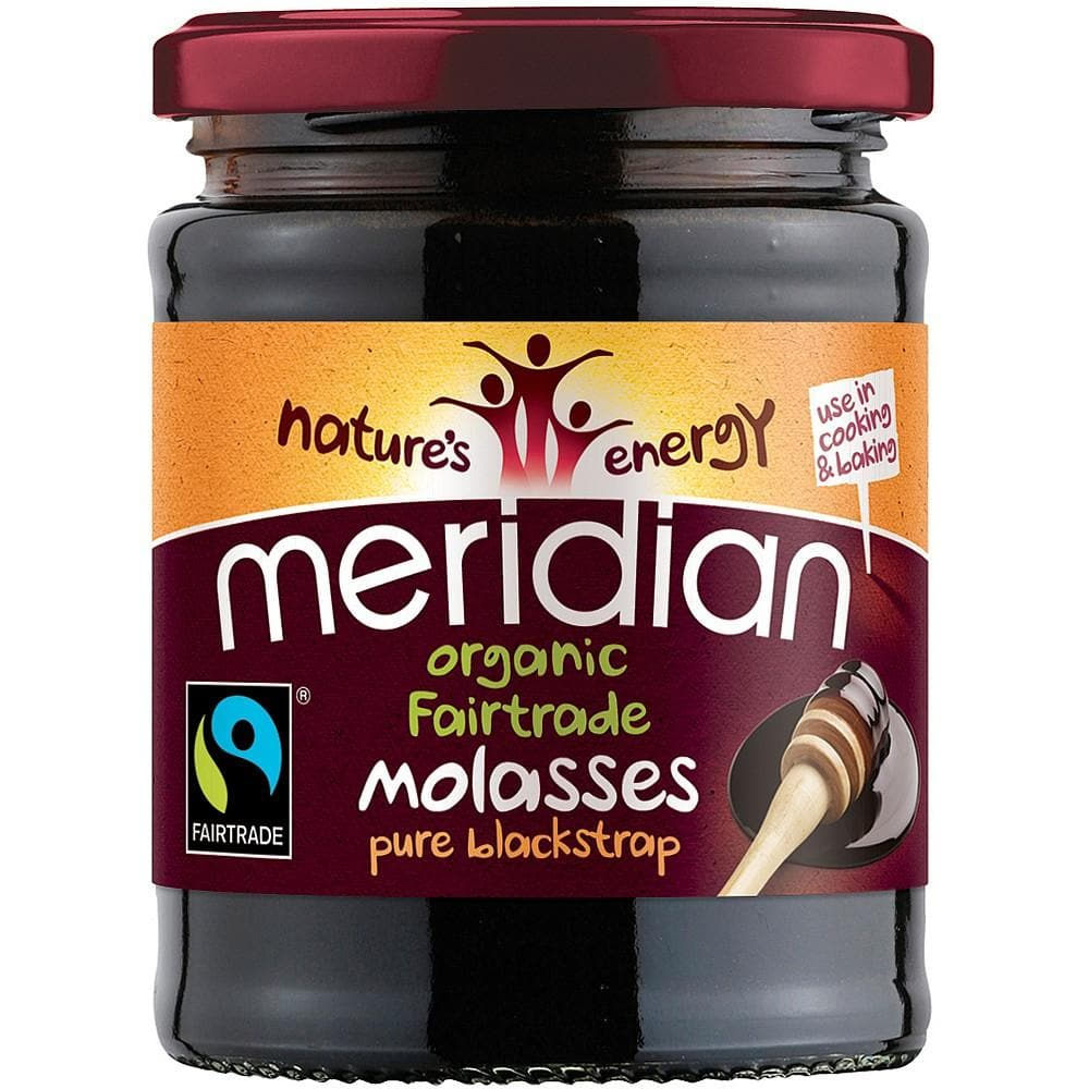Meridian Organic Fairtrade Molasses Pure Blackstrap - 350g - SoulBia
