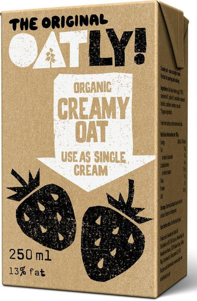 Oatly Cream Dairy Free 250ml - SoulBia
