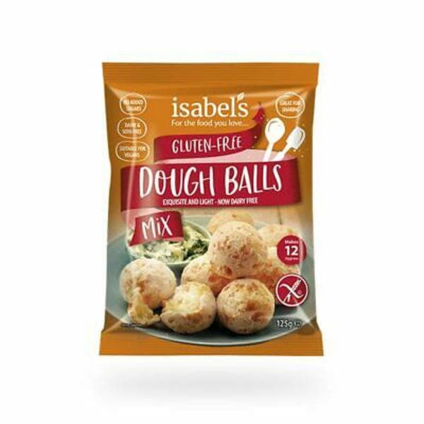 Isabels Gluten Free Dough Ball Mix Gluten Free - 125g - SoulBia
