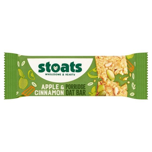 Stoats Apple & Cinnamon Porridge Bar 50g