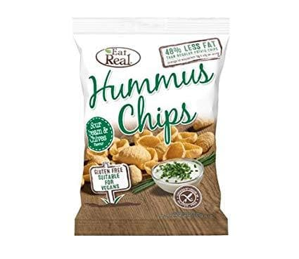 Eat Real Sour Cream & Chives Hummus Chips - 25g - SoulBia