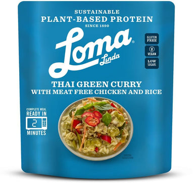 Loma Linda Thai Green Curry - 284g - SoulBia