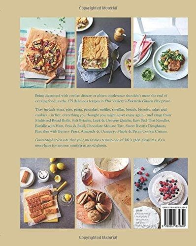 Phil Vickery's Essential Gluten-Free: 175 recipes that will revolutionise your diet. In association with Coeliac UK. - SoulBia