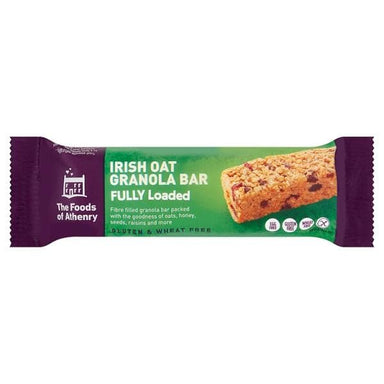 The Foods of Athenry Irish Oat Granola Bar- 55g - SoulBia