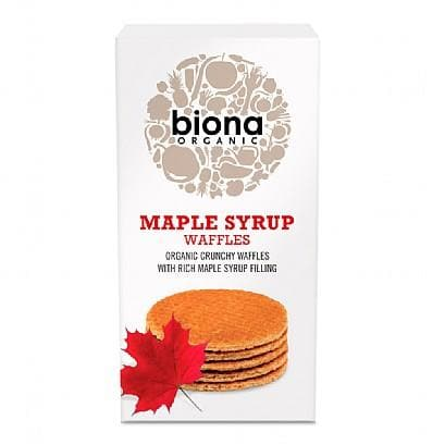 Biona Maple Syrup Waffles -175g - SoulBia