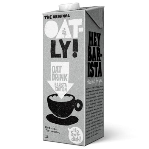 Oatly Oat Drink Foamable 1Lt - SoulBia