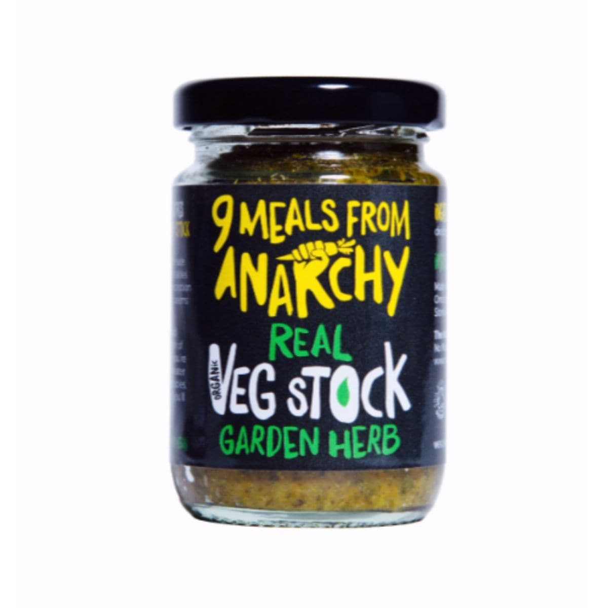 9 Meals From Anarchy Real Vegetable Stock - Garden Herb - 105g