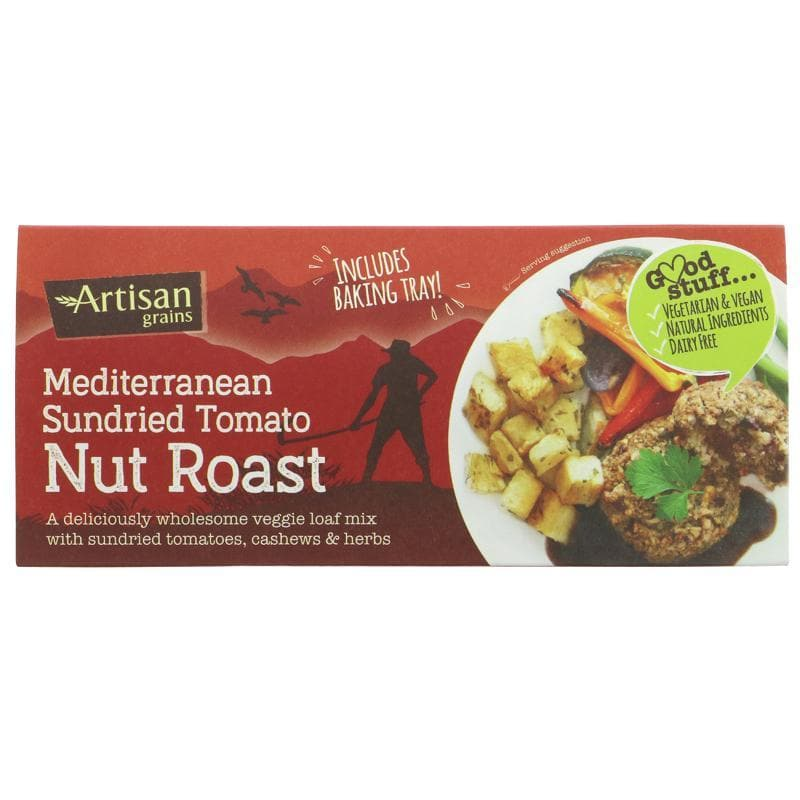 Artisan Grains Nut Roast - Sundried Tomato -200g - SoulBia