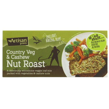 Artisan Grains Nut Roast - Country Veg/Cashew - 200g - SoulBia