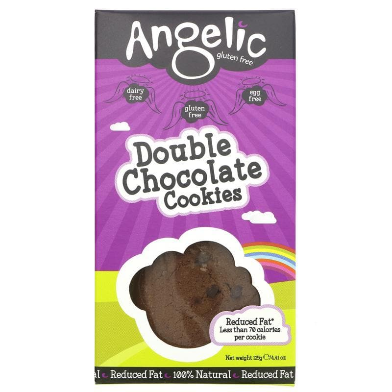 Angelic Gluten Free Double Chocolate Cookies - 125g - SoulBia