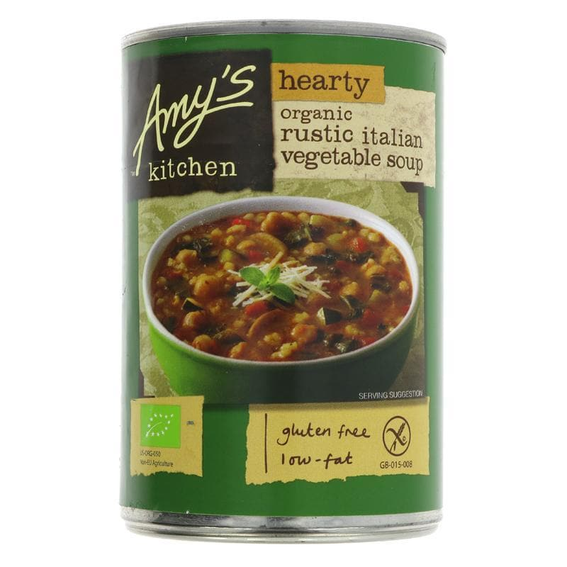 Amys Kitchen Rustic Italian Vegetable Soup - SoulBia