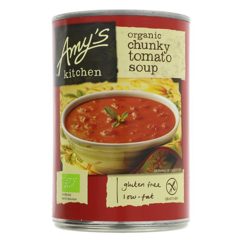 Amys Kitchen Chunky Tomato Soup - 400g