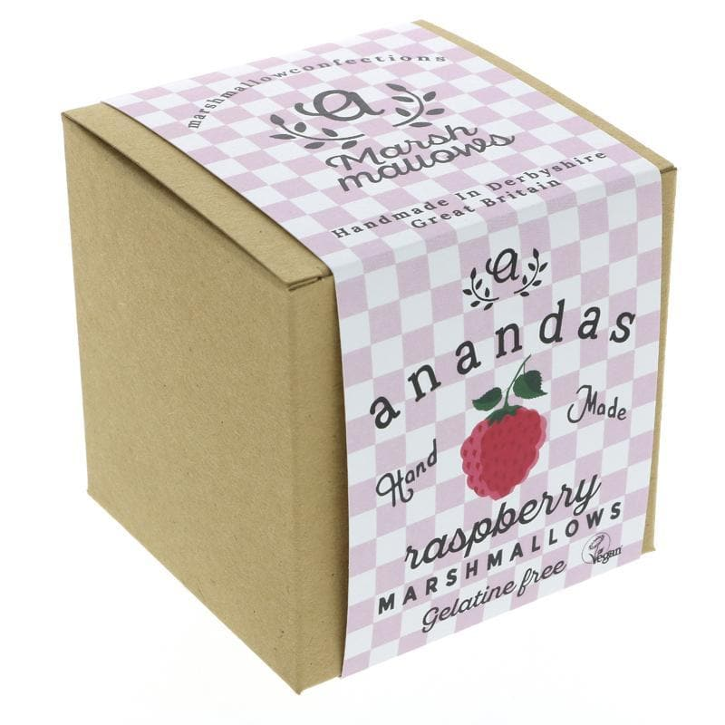 Ananda Foods Raspberry Marshmallows- 80g - SoulBia