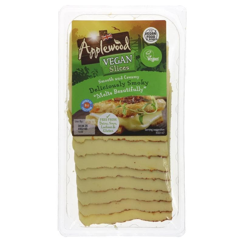 Applewood Smoked Cheese Slices - 200g - SoulBia