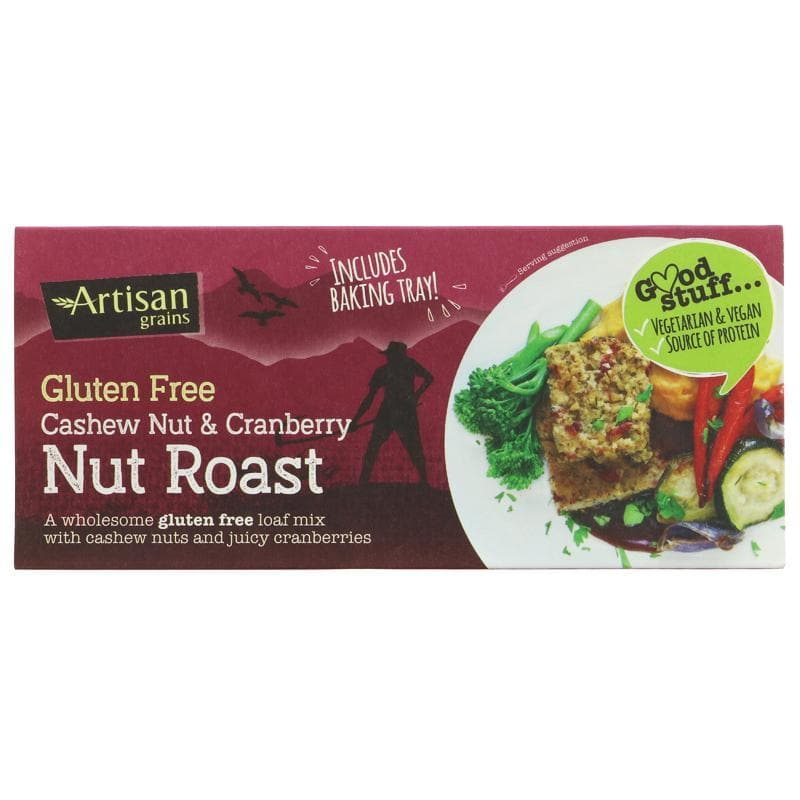 Artisan Grains Nut Roast - Cashew & Cranberry - 200g - SoulBia