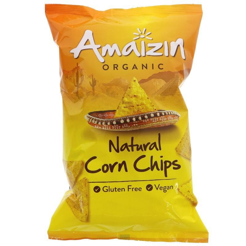 Amaizin Natural Corn Chips Value Bag -150g - SoulBia