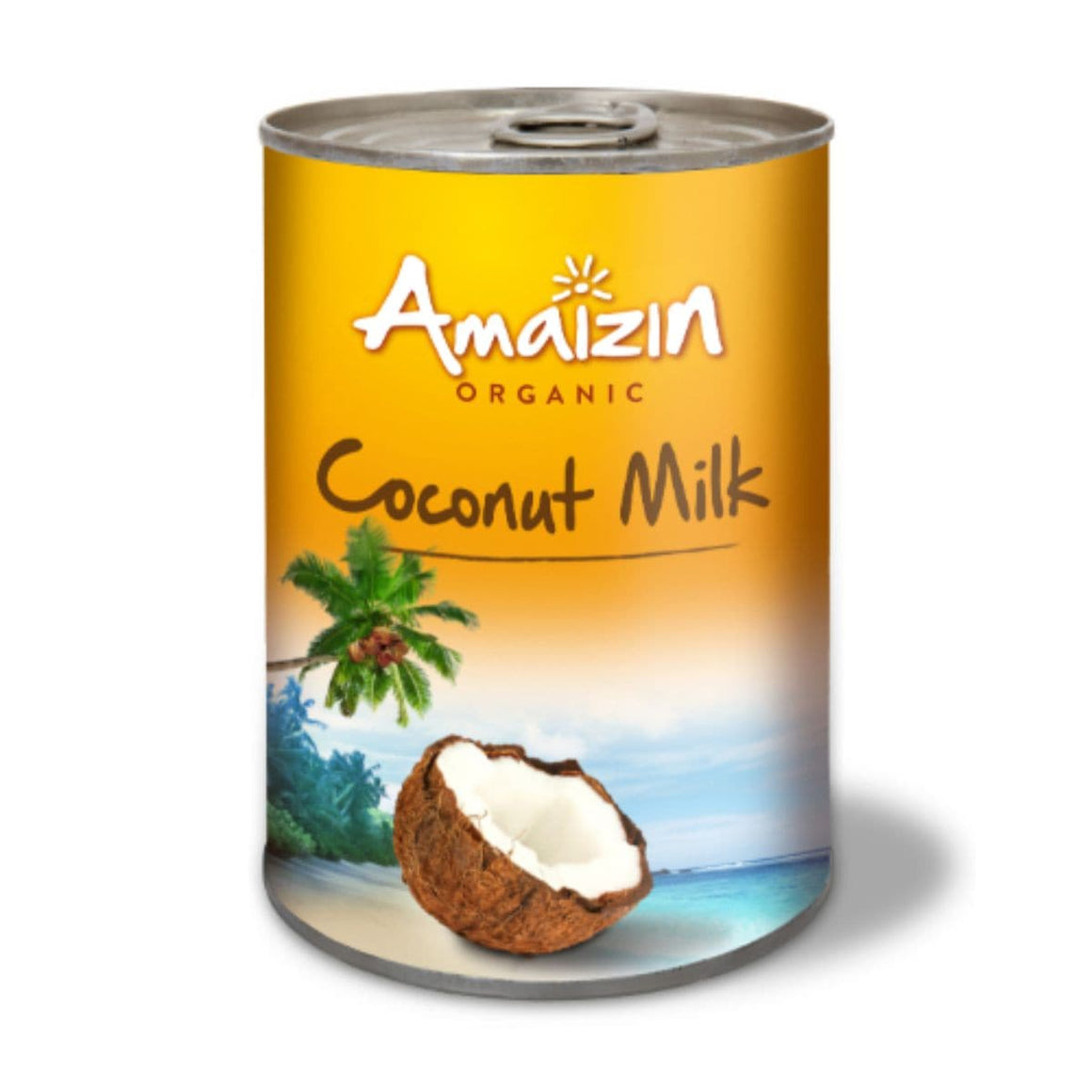 Amaizin Rich Organic Coconut Milk  - 400ml - SoulBia