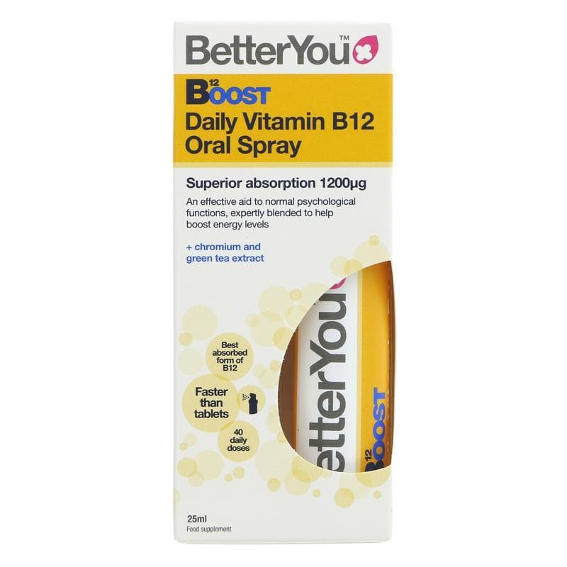 Better You Boost B12 Oral Spray - 25ml - SoulBia