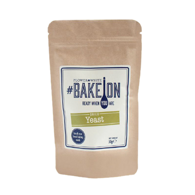 Flower & White BakeOn - Dried Yeast 50g - SoulBia