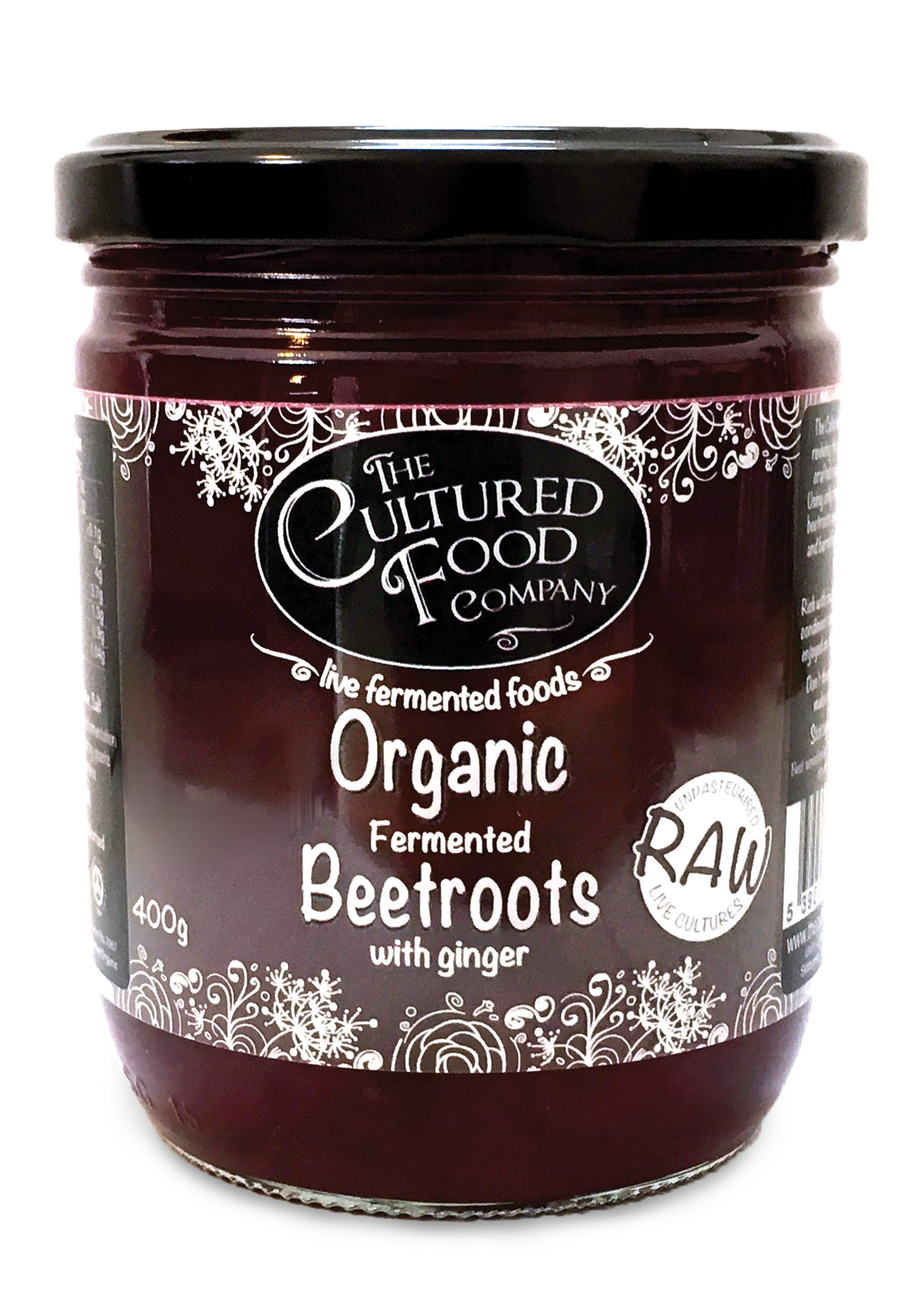 The Cultured Food Company Beetroots with Ginger - 400g - SoulBia