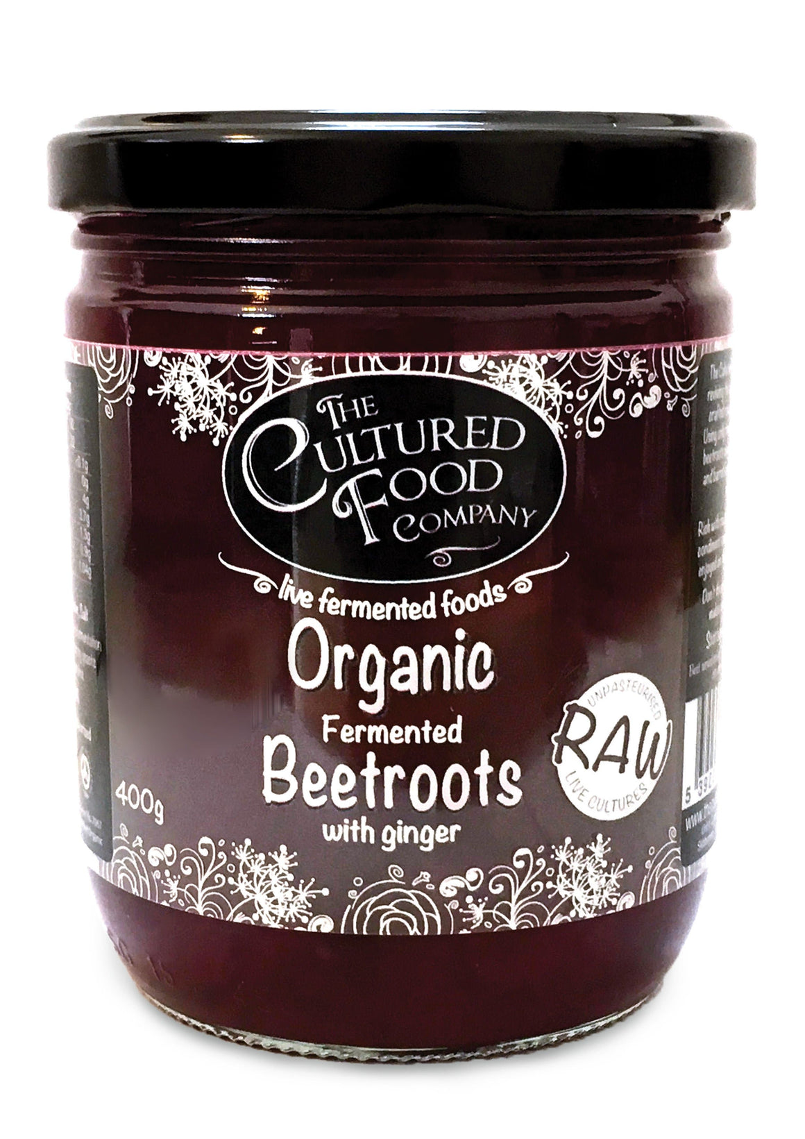 The Cultured Food Company Beetroots with Ginger - 400g
