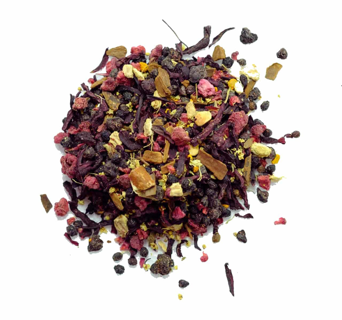 Remedy Roots Berry Defence Loose Leaf Tea- 50g - SoulBia