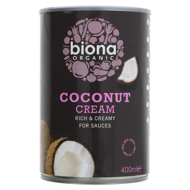 Biona Coconut Cream - 400ml - SoulBia
