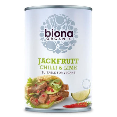 Biona Organic Chilli Lime Jackfruit In Can 400g