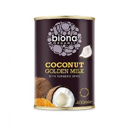 Biona Golden Coconut Milk With Turmeric Organic - 400ml - SoulBia