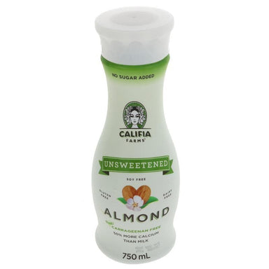 Califia Farms Unsweetened Almond Milk - 750ml - SoulBia
