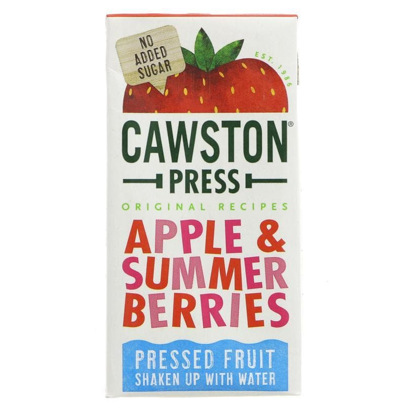 Cawston Press Apple and Summer Berries - 200ml - SoulBia